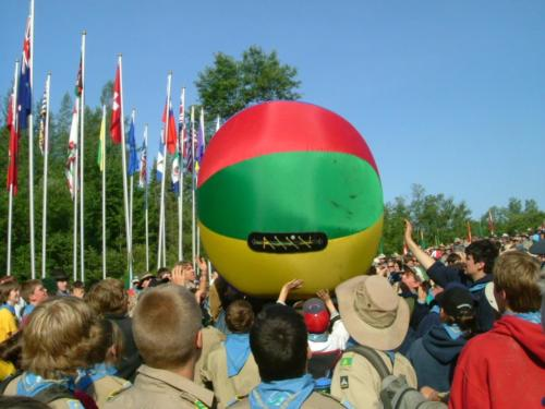 11th Canadian Scout Jamboree -2007 at TSR