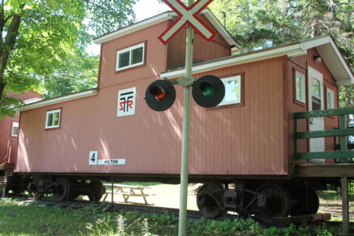 Caboose at TSR